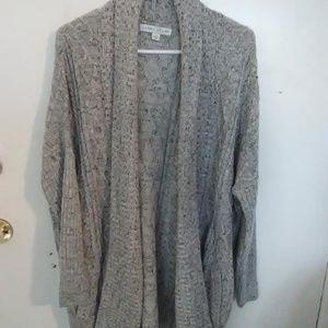 Larry Levine Gray sweater.